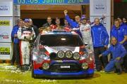 Kubica / Szcezpaniak - Jänner Rallye 2014