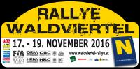 Waldviertel Rallyeschild 2016