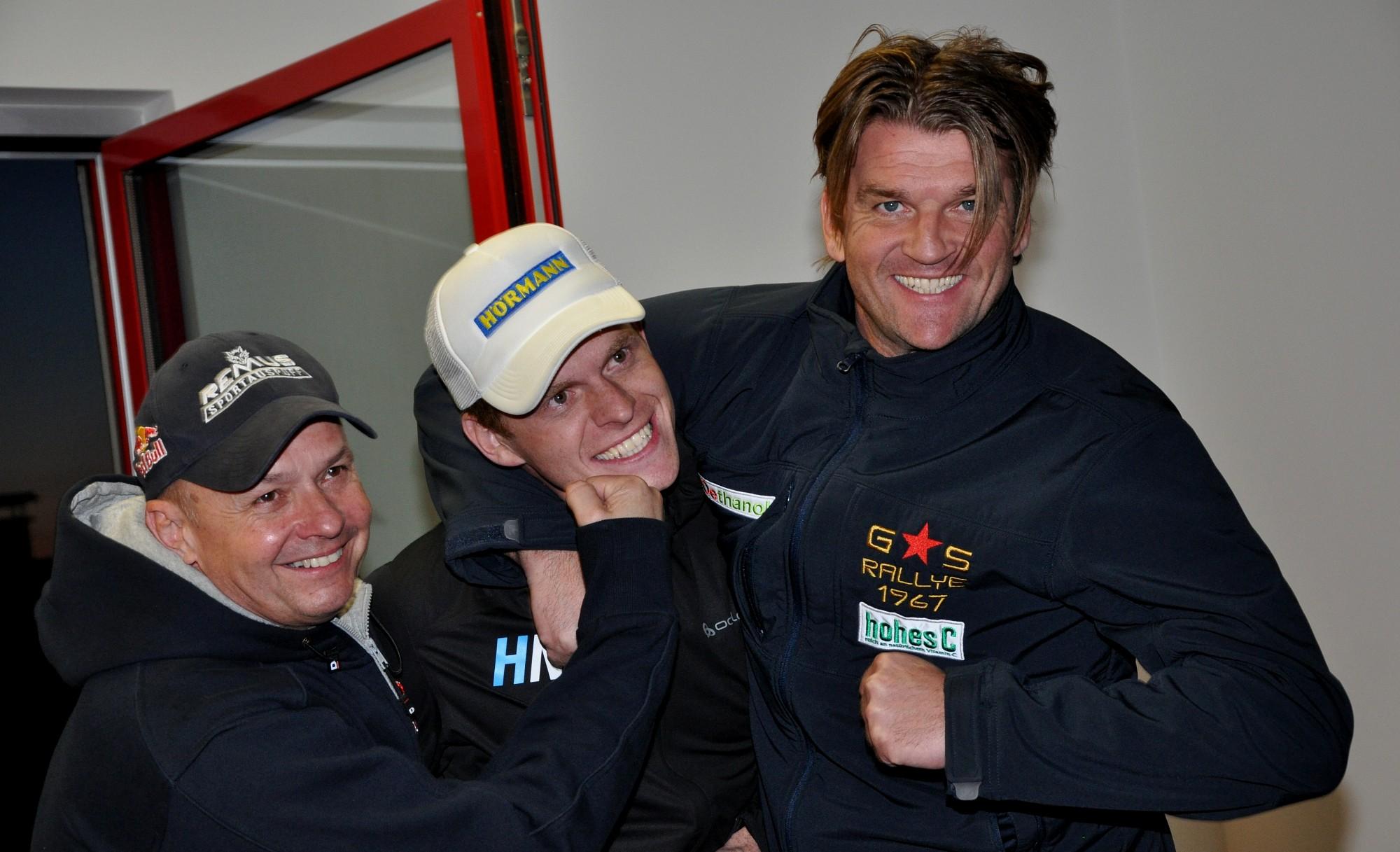 Baumschlager - Neubauer - Grössing -  Rebenland Rallye 2014