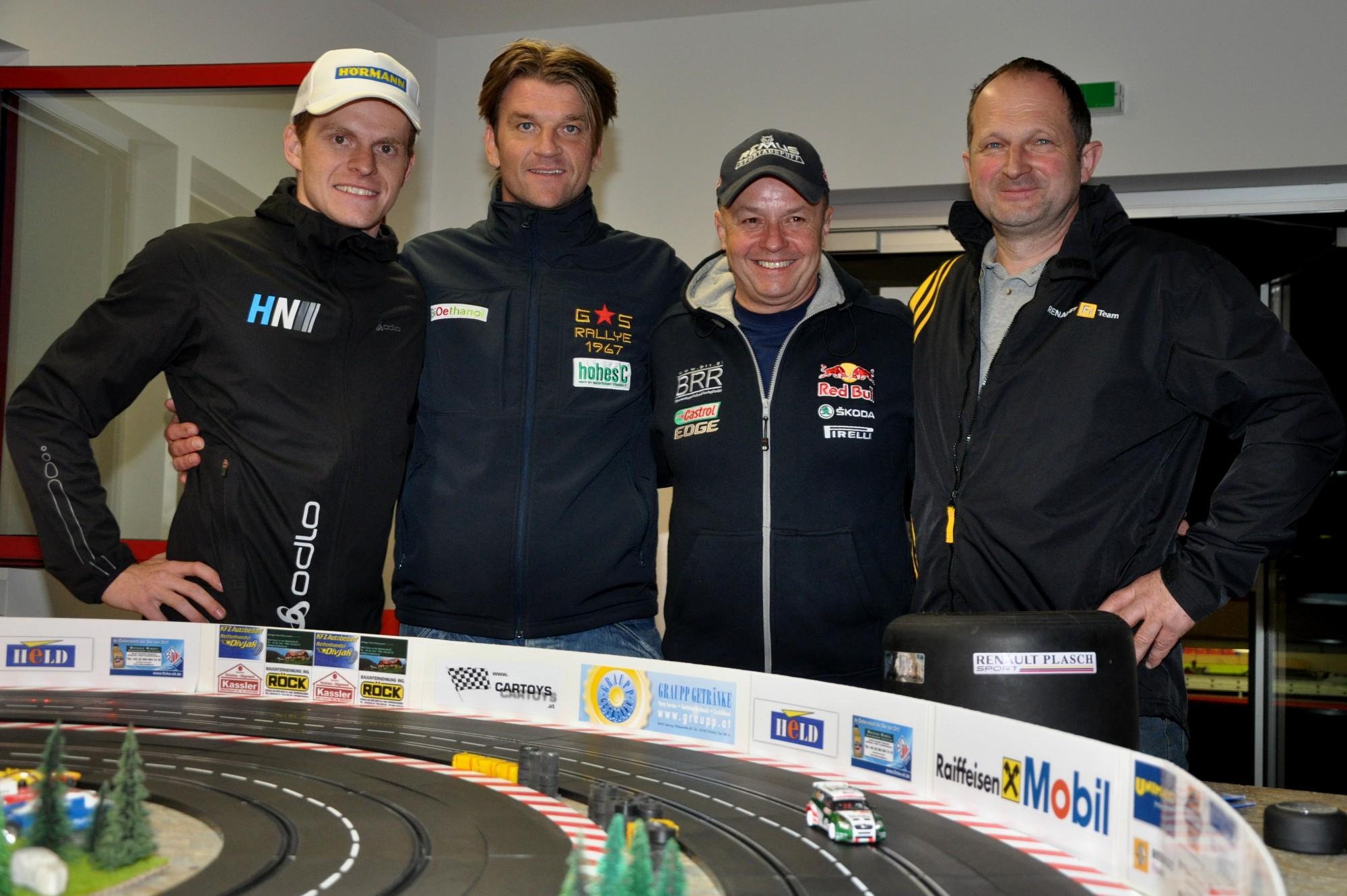 Neubauer / Grössing / Baumschlager / Plasch - Rebenland Rallye 2014